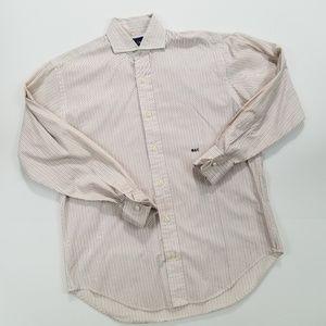 Ralph Lauren Size 4 French Cuff Striped Shirt